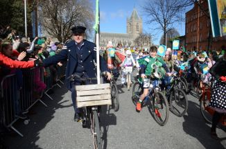 Joyce-Cycle Paul as Third Policeman at Christchurch